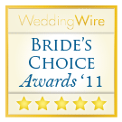 Wedding Wire Bride's Choice Award 2011